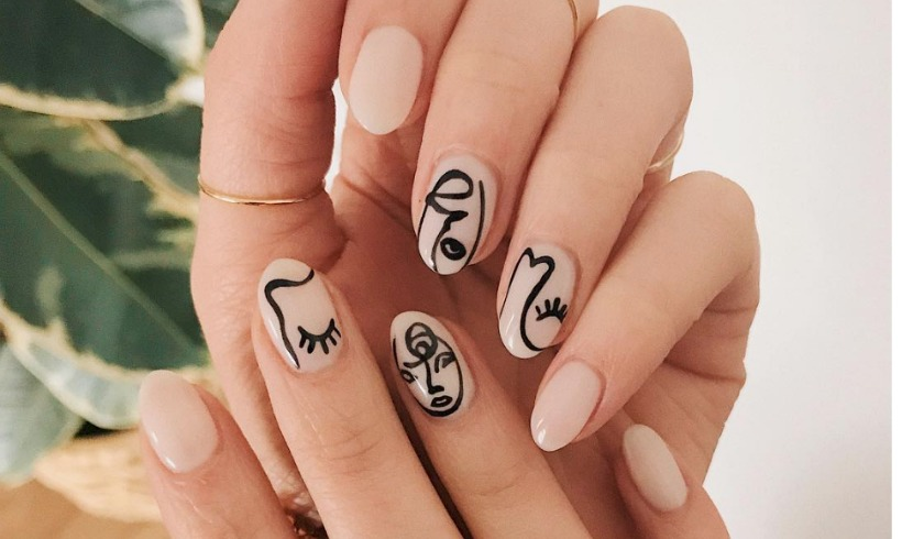 paznokcie wzory